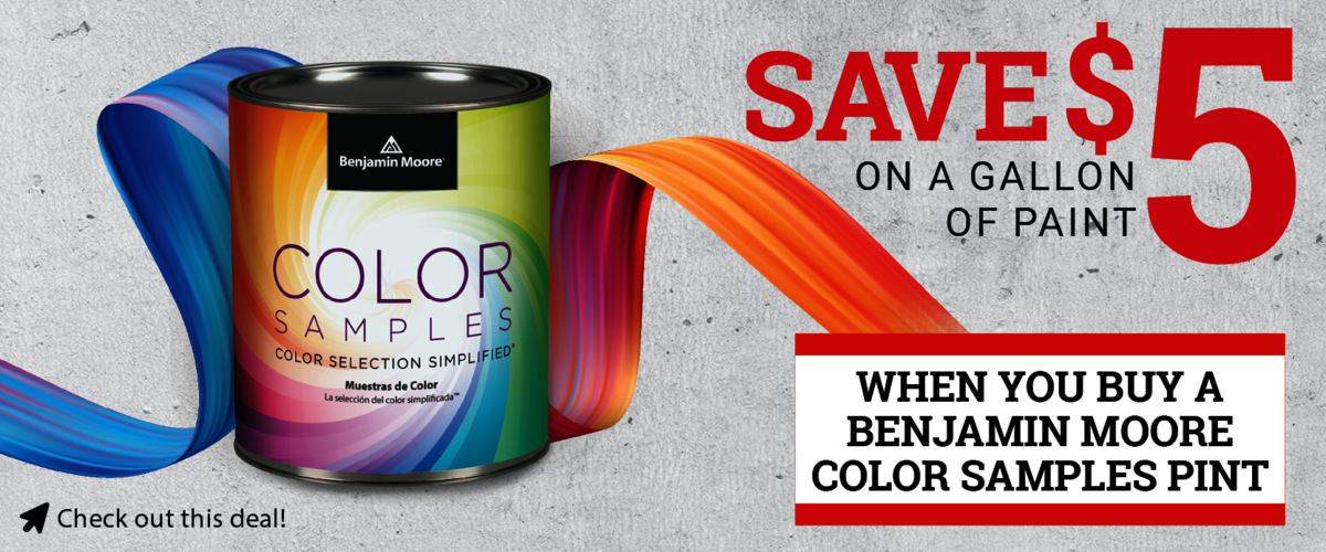 Ben Moore Paint Offer